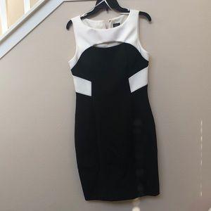NWOT Vince Camuto Black/White Dress